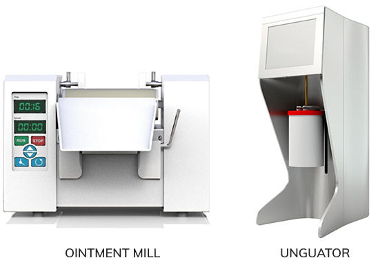 Equipment -Ointment Mill & Unguator